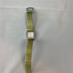 Fossil Diamond Bezel Watch